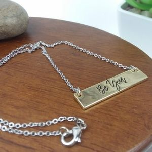 Be You Necklace, 16 inches